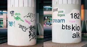 fransa graffiti
