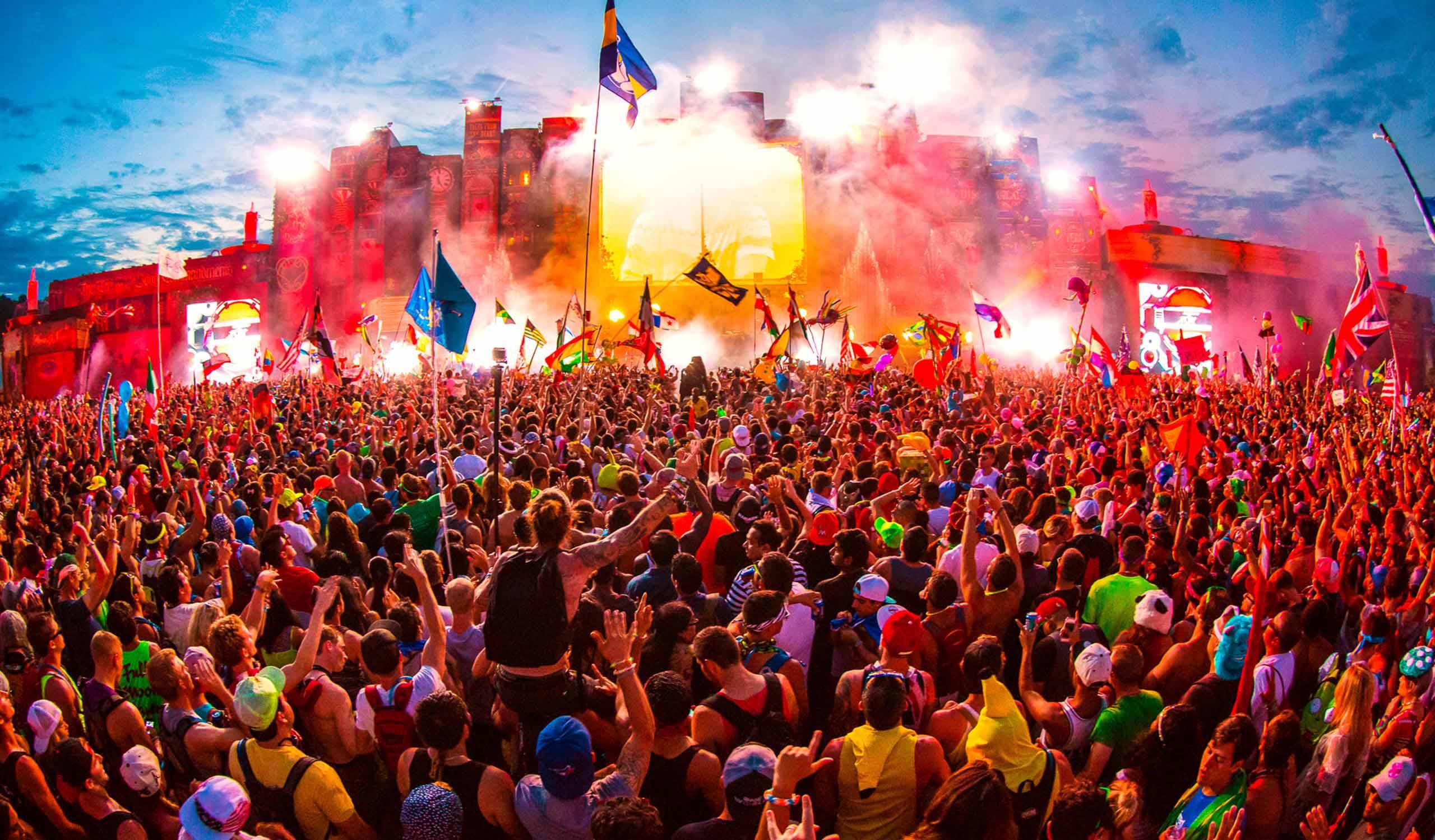 best dance music festivals in the world 2014