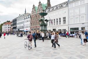 Strøget-Kopenhang-Danimarka